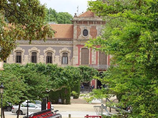 Das Gebäude des katalanischen Regionalparlaments