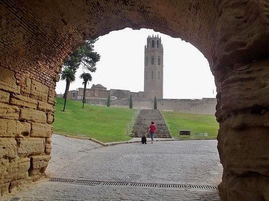 Eingang zum Festungskomplex