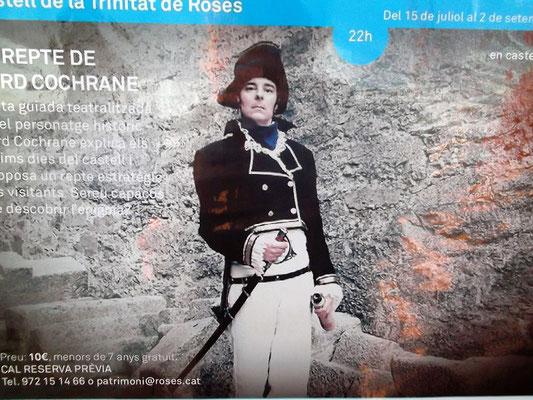 Bei der Belagerung 1808 durch die Truppen Napoleons verließen die englisch-spanischen Truppen unter dem Kommando von Lord Cochrane die Festung und retteten sich auf Schiffe. Dabei sprengten sie große Teile des Bauwerks in die Luft
