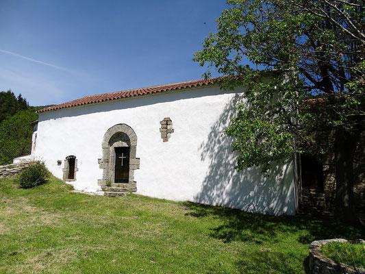 Die schon 1276 errichtete Kapelle der Mutter Gottes von den Salinen (Salzsteine für das Vieh)