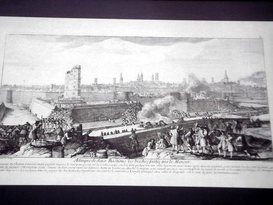 Die Belagerung Barcelonas durch bourbonische Truppen