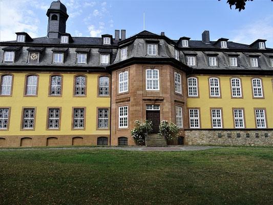Schloss Liebenburg (1754 von Fürstbischof Clemens August von Hildesheim an Stelle einer alten Burg erbaut)