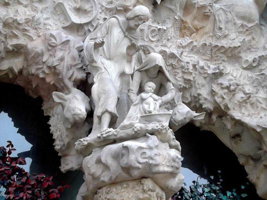 """Die """"Heilige Familie"""" (Geburtsszene in Bethlehem)"""