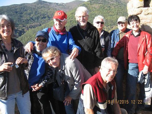 Unsere Gruppe auf dem Turm