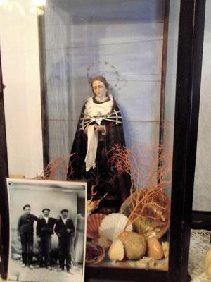 Marienfigur dort