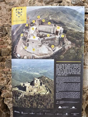 Plan der Burg