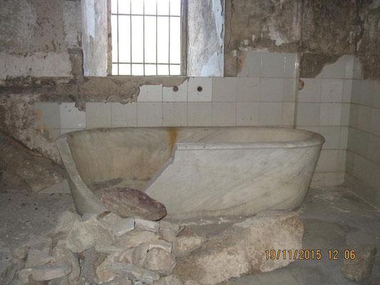Die Badewanne des Senyors