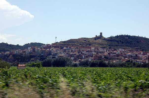 Ascó (Aufnahme: Willtron wiki) - ehemals moriskisches Dorf