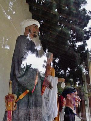 Die maurischen Giganten Tortosas Nabil und Zoraida