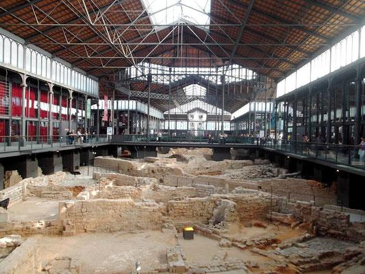 Die Ausgrabungen im Inneren