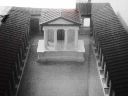 Rekonstruktion einer alten Agora
