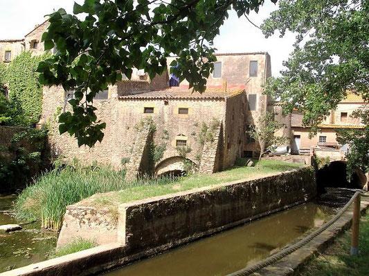 Die alte Reismühle, ursprünglich ein befestigtes Haus