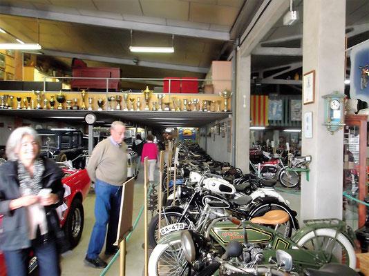 Viele Motorräder...