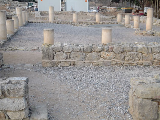 Ruinen des Perystil-Hauses