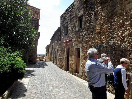 Es gibt viel zu fotografieren! Im Mittelalter war Pals Hafenstadt. In den Herrenhäusern lebten Adlige, und Königinnen hielten auf der Burg Hof.