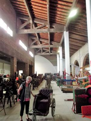 Blick in die Halle der Kooperative - ein Industriedenkmal