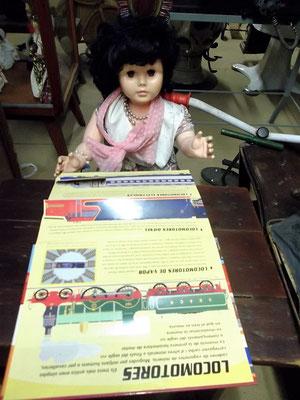 Auch Puppen und vieles andere hat der leidenschaftliche Kollektionist Folgado gesammelt.