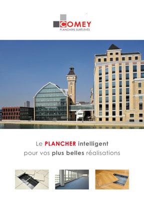 Planchers Comey, charte print et site web