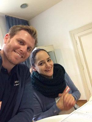 Helfer beim Geistheilungstag Moritz und Yeta