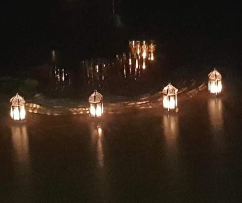 Kristallklangschalenkonzert & Geistheilung mit Kerzenlicht, Kirsten Schäfer und Jesus Lopez