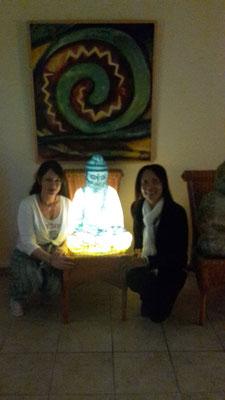 Buddha Lampe