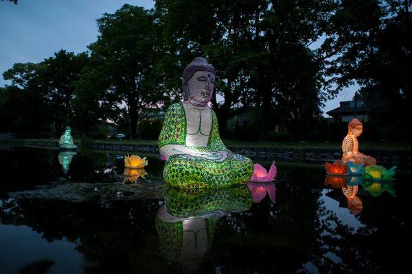 Buddha Floating