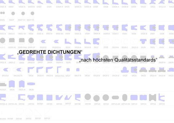 Profile Dichtungen, Qualität, SKF, Freudenberg, Viton, Großdichtungen