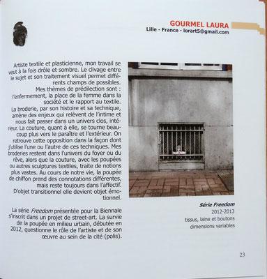 Biennale art contemporain, nîmes, 2013, laura gourmel