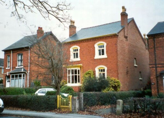 Villas, late Victorian, Olton Boulevard East (formerly Greenwood Road)
