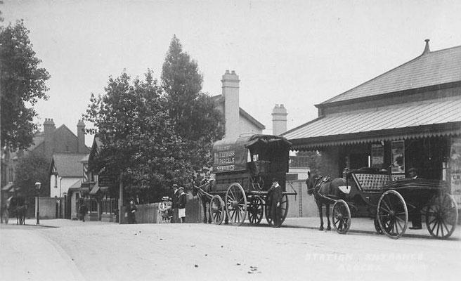 Acocks Green station c. 1908