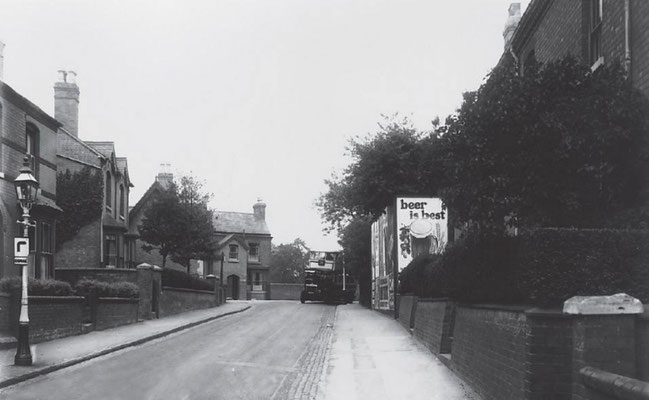 View north to the canal, 1934 (Birmingham Libraries)