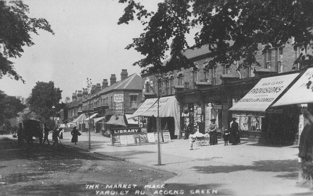 Market Place near Florence Road, c. 1907
