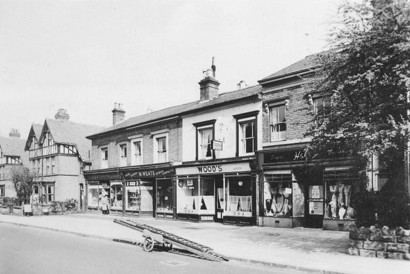 Yardley Road between the Avenue and Malvern Road, 1955 (Birmingham Libraries)