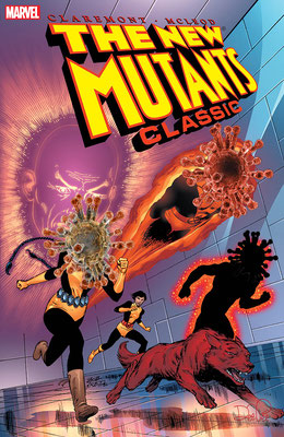 """""""The new Mutants"""" – Bearbeitung von existierendem Comic-Cover"""