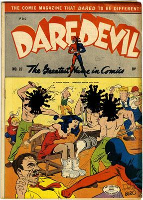 """""""Daredevil"""" – Bearbeitung von existierendem Comic-Cover"""