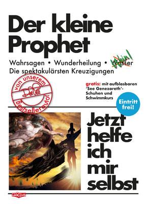""""""" Der kleine Prophet"""" Parodie auf die Buchreihe 'Jetzt helfe ich mir selbst' des motorbuch-Verlags aus den 1070ern."""