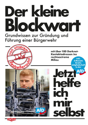 """"""" Der kleine Blockwart"""" Parodie auf die Buchreihe 'Jetzt helfe ich mir selbst' des motorbuch-Verlags aus den 1070ern."""