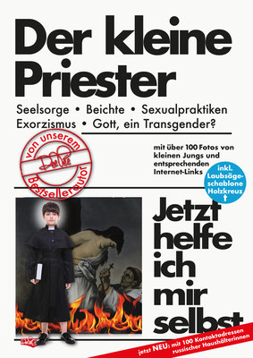 """"""" Der kleine Priester"""" Parodie auf die Buchreihe 'Jetzt helfe ich mir selbst' des motorbuch-Verlags aus den 1070ern."""