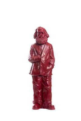 Karl Marx, 2013 Installation mit 500 Karl-Marx-Figuren zum 130. Todestag und 195. Geburtstag von Karl Marx auf dem Porta-Nigra-Platz und dem Simeonstiftplatz Trier.           Foto: Axel Kohlhaas