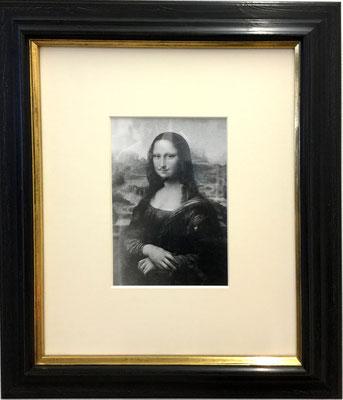 Man Ray L:H:O:O:Q: /Mona Lisa as seen by Duchamp) 1919 (1964)Vintage Silbergelatine-Abzug gedruckt von Pierre Gassman 1964  28,7x19,5cm