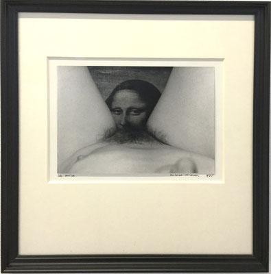 Marien Marcel, La Mire 1985, Vintage Silbergelatine Abzug, 17,78x24,13 cm