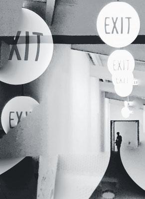 exit, Berlin 2017 50 x 40