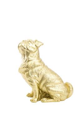 """Mops, 2000 Der Mops ist der lebendige Versuch – die Idee eines Kunstwerks. Er ist in seiner Existenz das Spiegelbild von Exzentrik, eines Charakters oder einer Lebensform, welche das unmittelbar mit dem Stichwort """"Hund"""" verbundene ad absurdum führt. Er is"""