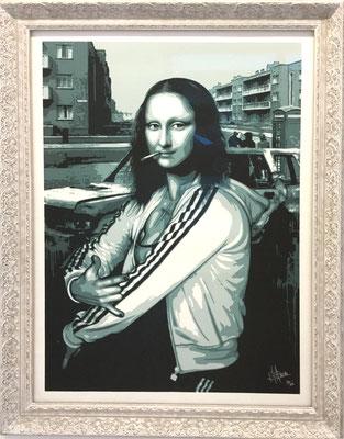Rourke van Dal, 2006, Snide Chavinci 2009, Farbserigraphie 35, 76x56 cm