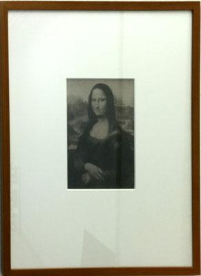 Thomas Ruff Mona Lisa 1990 Chromogen-Druck 12, 13,7x9,1 cm