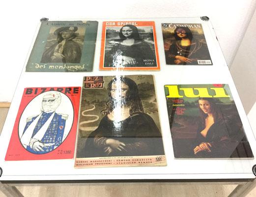 Balent Jim u.a. Da Vinci, Mona Neumann, Der Spiegel etc. 1902 -1980 Extrem seltene Mona Lisa Magazintitelbilder, Div. Größen