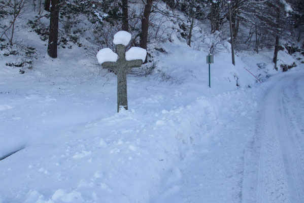L'hiver à Cros de Géorand (Marie-Hélène)