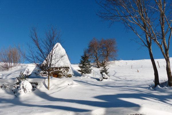 L'hiver à Cros de Géorand (Alban)