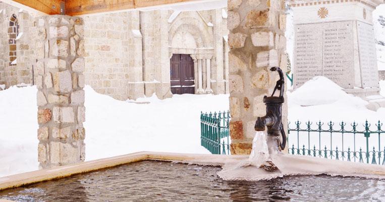 L'hiver à Cros de Géorand (Audrey)