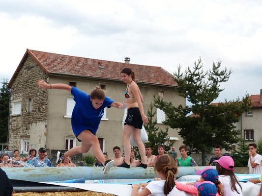 Intervillage 2017 à Coucouron. Victoire du comité des jeunes de Cros de Géorand